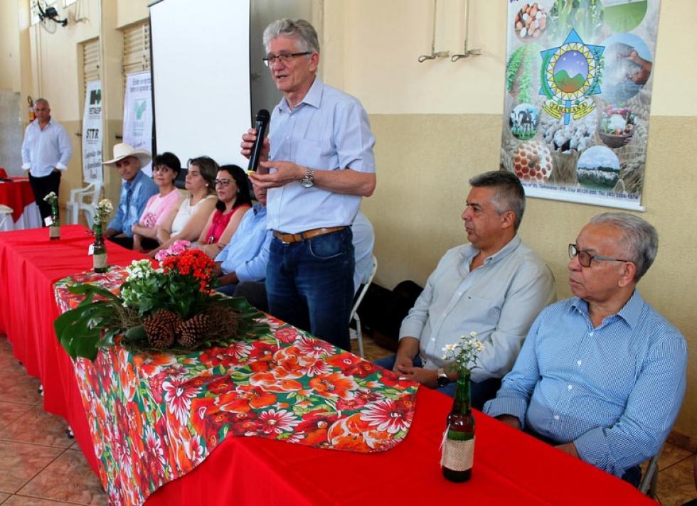 Secretário da Agricultura Norberto Ortigara em Encontro De Mulheres
