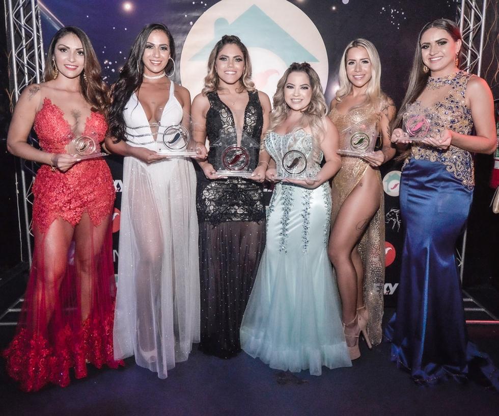 As campeãs do reality show Casa das Pimentinhas