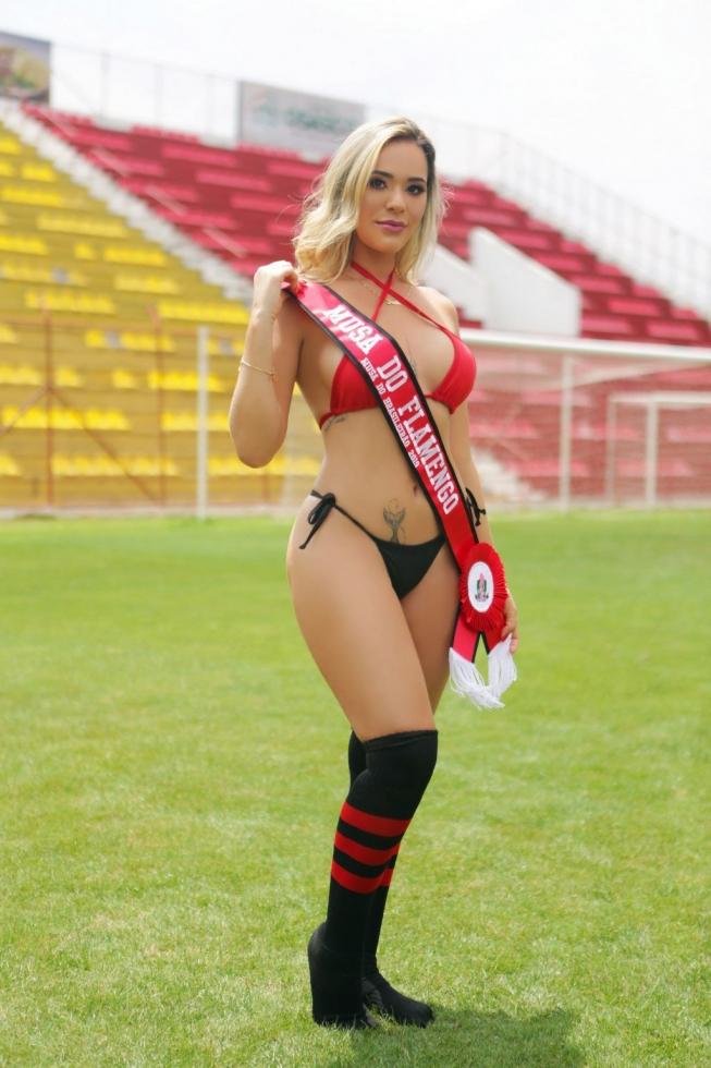 Flamengo: Júlia Katerine – 24 anos – Paraty (RJ)